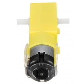 موتور گیربکس پلاستیکی دو طرفه R1:220 50RPM