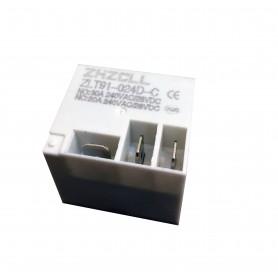 رله فیش خور - کولری 24 ولت 30 آمپر مارک ZHZCLL کد ZLT91-024D-C