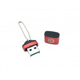 مموری ریدر تک کاره Micro SD فلزی مارک KH