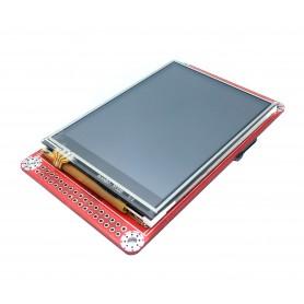 """ماژول نمایشگر """"LCD 3.2 تمام رنگی با تاچ سری RedRhino"""