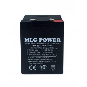 باتری خشک 4 ولت 8 آمپر ساعت مارک MLG Power