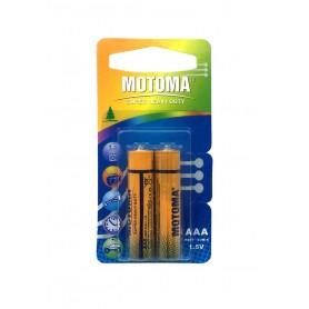 باتری نیم قلمی Super دوتایی مارک Motoma