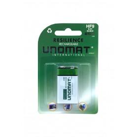 باتری کتابی قابل شارژ 250mAh مارک Unomat