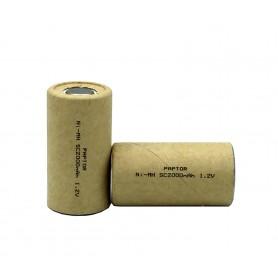 باتری جارو شارژی 1.2 ولت 2000mAh مارک Raptor
