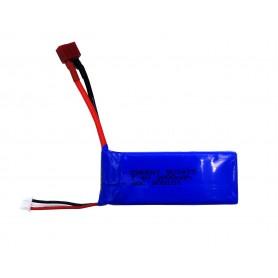 باتری لیتیوم پلیمر 7.4v ظرفیت 2000mAh دو سل 30c مارک Energy کد 903475
