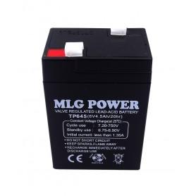 باتری خشک 6 ولت 4.5 آمپر ساعت مارک MLG Power