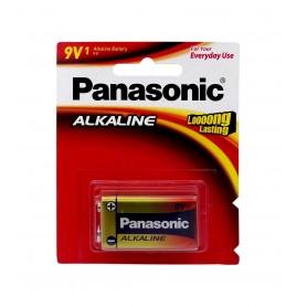 باتری کتابی 9 ولت آلکالاین مارک Panasonic