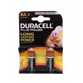 باتری قلمی آلکالاین Plus Power DuraLock دو تایی مارک Duracell
