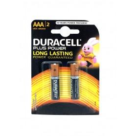 باتری نیم قلمی آلکالاین Plus Power DuraLock دو تایی مارک Duracell