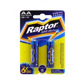 باتری قلمی آلکالاین Super Alkaline دوتایی مارک Raptor
