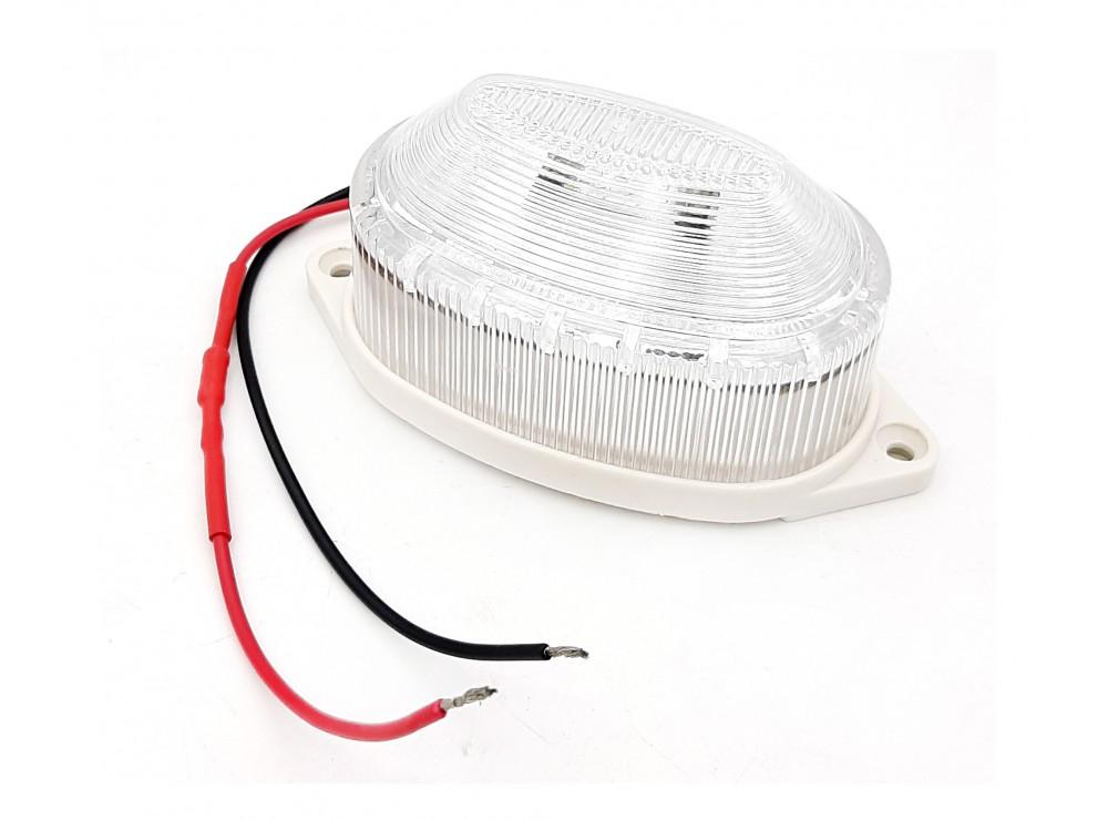 چراغ آلارم DC12V سفید