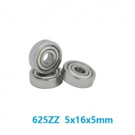 بلبرینگ 625ZZ سایز 16X5X5mm مناسب پرینترهای سه بعدی