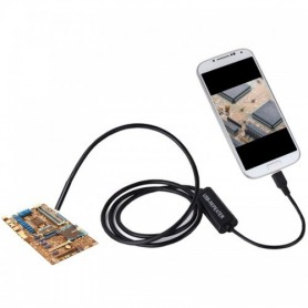 دوربین ( آندوسکوپ ) 1.3 مگاپیکسل لنز 8mm کابل 3.5 متر ارتباط USB سازگار با ویندوز و اندروید