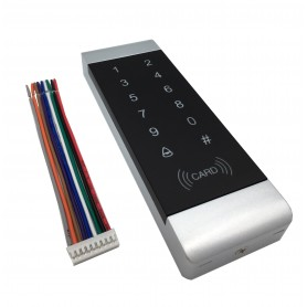 دستگاه اکسس کنترل RFID 13.56MHz لمسی مدل RFID-T7