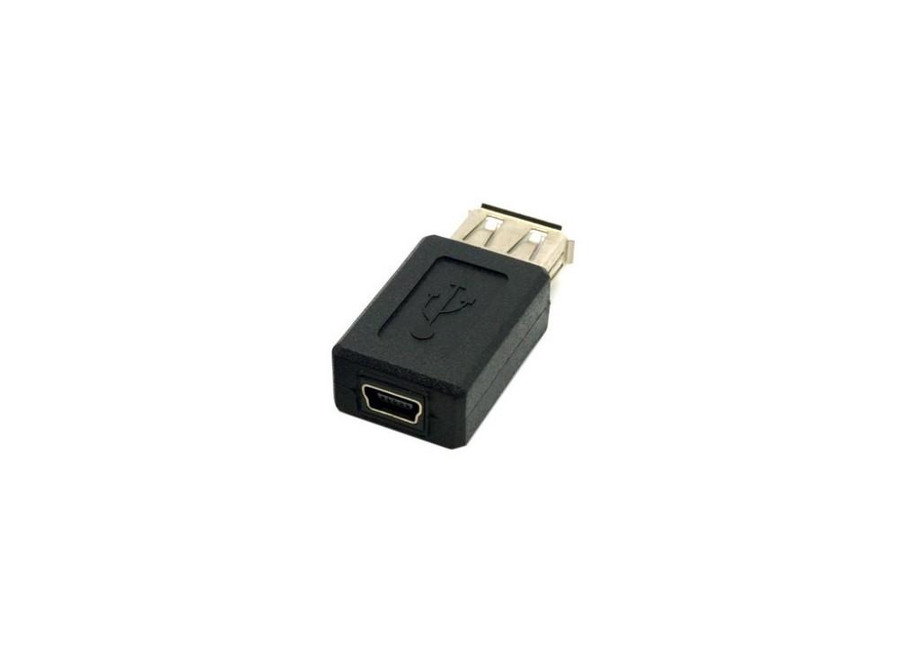 تبدیل USB A مادگی به USB Mini مادگی