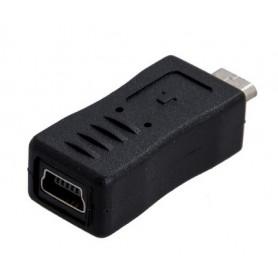 تبدیل USB Micro نری به USB Mini مادگی