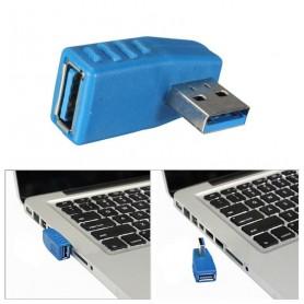 تبدیل USB3.0 مادگی به USB3.0 نری رایت 90 درجه مدل RIGHT