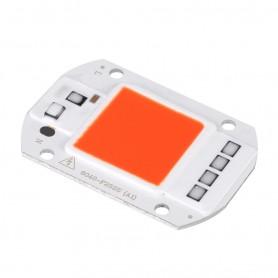LED COB قرمز 50W 220V با درایور داخلی