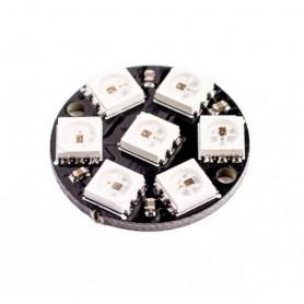 ماژول LED RGB هفت تایی WS2812