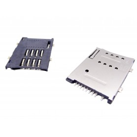 سوکت سیم کارت اتوماتیک 9 پین Simcard Socket