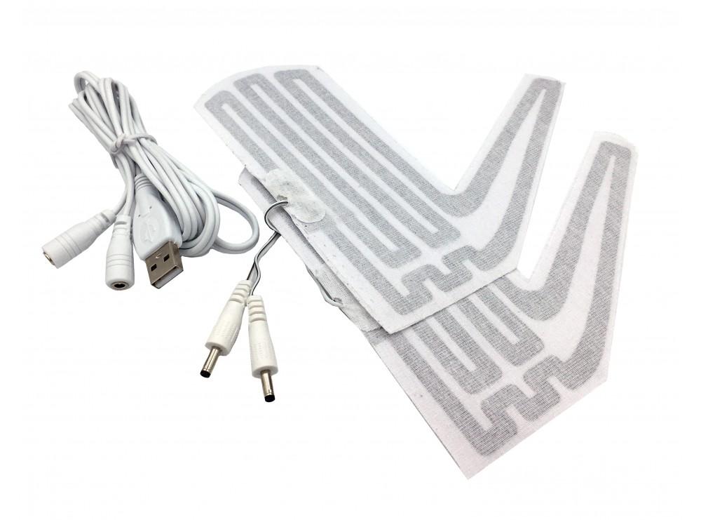 پد حرارتی دستکش 5 ولت USB