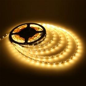 LED نواری سفید آفتابی درشت 5050 60Pcs رول 5متری