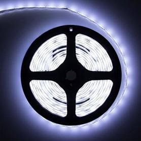 LED نواری سفید مهتابی درشت 5050 60Pcs رول 5متری