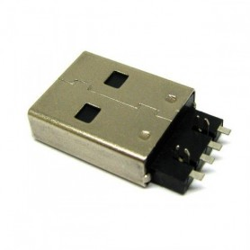 کانکتو USB-A نری لحیمی بدون هولدر فلزی