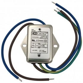 ماژول فیلتر EMI فلزی CANNY WELL مدل CW1B-03A-L