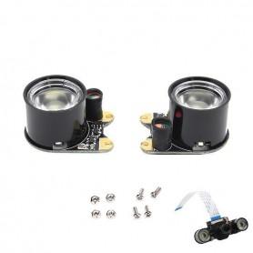 پک دوتایی چراغ دوربین رزبری پای Raspberry PI Camera Light