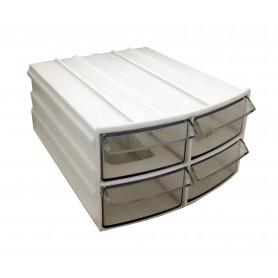 جعبه قطعات کشویی 4 خانه 105x115x60mm