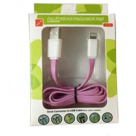 کابل لایتنینگ USB Lightning یک متری رنگی WIF-930