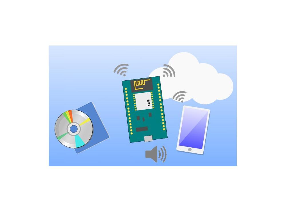 مجموعه آموزشی کنترل لوازم توسط اینترنت و فرامین صوتی