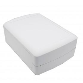 جعبه برد پلاستیکی چهار تکه سفید مدل MOB سایز 210x150x78mm