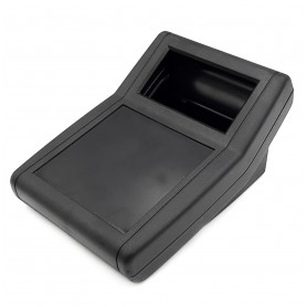 جعبه برد پلاستیکی رومیزی مشکی مدل BDC سایز 156x114x77mm