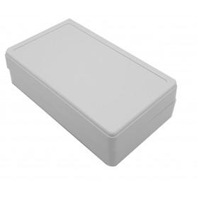 جعبه برد پلاستیکی سفید 140x80x40mm