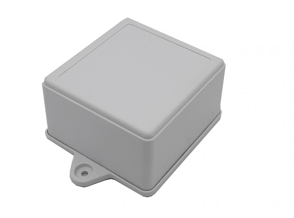 جعبه برد پلاستیکی سفید پیچ خور مدل BMW-B سایز 75x70x45mm
