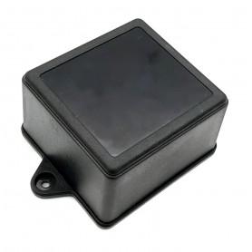 جعبه برد پلاستیکی مشکی پیچ خور مدل BMW-B سایز 75x70x45mm