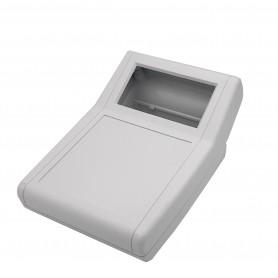 جعبه برد پلاستیکی رومیزی سفید مدل BDC سایز 156x114x77mm