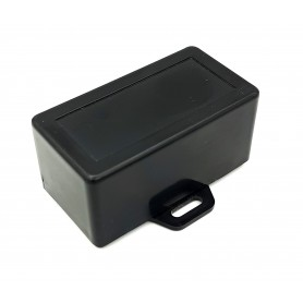 جعبه برد پلاستیکی مشکی پیچ خور مدل BMW-C سایز 63x33x30mm