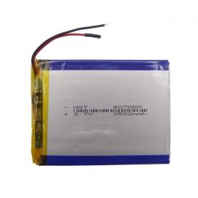 باتری لیتیوم پلیمر 3.7v ظرفیت 3500mAh مارک HST کد407080