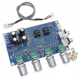 برد پری آمپلی فایر و تون کنترل حرفه ای XH-M164 NE5532