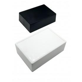 جعبه برد پلاستیکی سفید مدل BMD-A سایز 121x81x40mm