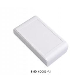 جعبه برد پلاستیکی دو تکه سفید مدل BMD-A سایز 95x55x23mm