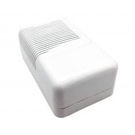 جعبه برد پلاستیکی سفید تهویه دار سایز 115x73x45mm