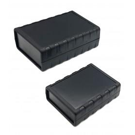 جعبه برد پلاستیکی چهار تکه مشکی مدل BMD سایز 90x68x28mm