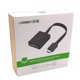 تبدیل HDMI به VGA به همراه خروجی صدا مارک UGREEN