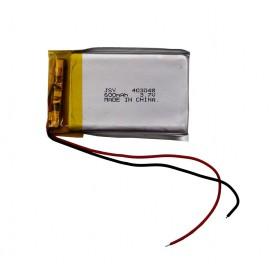 باتری لیتیوم پلیمر 3.7v ظرفیت 600mAh مرغوب مارک JSY