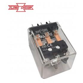 رله 110VAC قدرت تایوانی مارک SONG CHUAN کد 731I-TPDT-CT