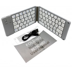 کیبورد بلوتوثی Foldable Bluetooth Keyboard تاشو مدل B022